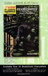 Verso de Tales from the Crypt Vol. 2 (Papercutz - 2007) -11- Issue # 11