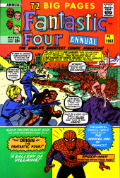 Verso de The official Marvel Index to the Fantastic Four (Marvel comics - 1985) -2- Issue # 2