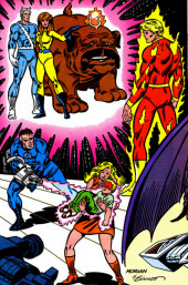 Verso de The official Marvel Index to the Fantastic Four (Marvel comics - 1985) -8- Issue # 8