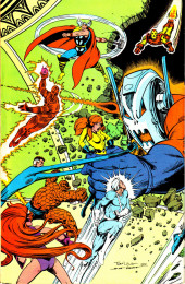 Verso de The official Marvel Index to the Fantastic Four (Marvel comics - 1985) -9- Issue # 9