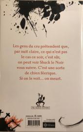 Verso de (AUT) Gaiman - Le Dogue Noir