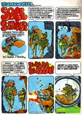 Verso de Crazy magazine (Marvel comics - 1973) -1- Explosive First Issue