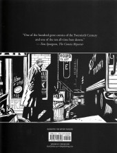 Verso de Alack Sinner (en anglais) - The Age of Innocence