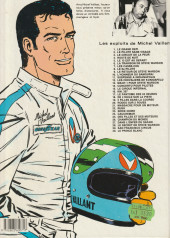 Verso de Michel Vaillant -28a1984- Le secret de Steve Warson