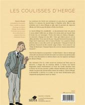 Verso de (AUT) Hergé - Les Coulisses d'Hergé