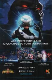 Verso de X-Men Vol.5 (Marvel comics - 2019) -12- Amenth