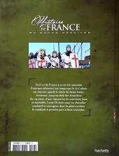Verso de Histoire de France en bande dessinée -15- Saint Louis le roi chevalier 1226-1270