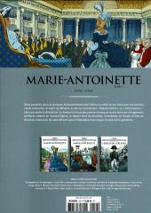 Verso de Les grands Personnages de l'Histoire en bandes dessinées -45- Marie-Antoinette, tome 1