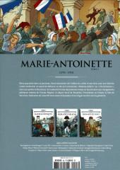 Verso de Les grands Personnages de l'Histoire en bandes dessinées -46- Marie-Antoinette, tome 2