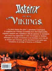 Verso de Astérix (Hors Série) -C06b- Astérix et les vikings
