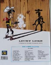 Verso de Lucky Luke -48Or- Le bandit manchot