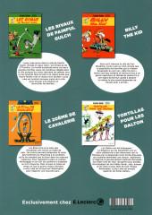 Verso de Lucky Luke -HS8- 4 Aventures légendaires de Lucky Luke
