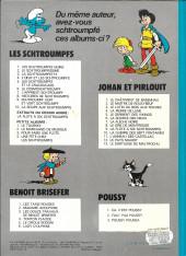 Verso de Benoît Brisefer -3a1977- Les douze travaux de Benoît Brisefer