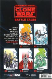 Verso de Star Wars Adventures - The Clone Wars - Battle Tales -4- Chapter Four