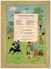 Verso de Tintin (Historique) -11B15- Le secret de la licorne