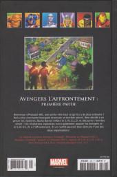 Verso de Marvel Comics - La collection (Hachette) -166129- Avengers l'Affrontement : Première Partie