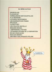 Verso de La nef des fous -10TL- Une bien turlupinante fêlure