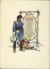 Verso de Blueberry -12a1973- Le spectre aux balles d'or
