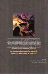 Verso de Savage Sword of Conan (The) (puis The Legend of Conan) - La Collection (Hachette) -76- La fille du géant du gel