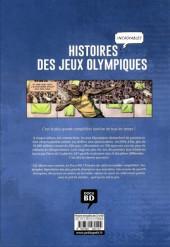 Verso de Histoires incroyables des Jeux Olympiques