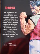 Verso de RanXerox (en anglais) -1- Ranx in New York