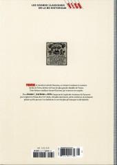 Verso de Les grands Classiques de la BD Historique Vécu - La Collection -26- Giacomo C. - Tome IV : Le Maître et son valet