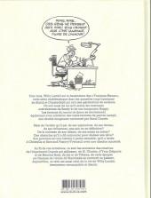 Verso de (AUT) Lambil - Une vie avec les Tuniques bleues