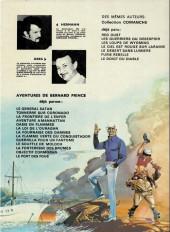 Verso de Bernard Prince -1c1979- Le général satan