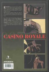 Verso de James Bond (Delcourt) -HS- Casino royale