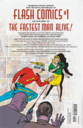 Verso de Flash (The): 80 Years of the fastest man alive - 80 Years of the fastest man alive the deluxe edition