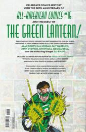 Verso de Green Lantern : 80 years of the emerald knight - 80 years of the emerald knight the deluxe edition