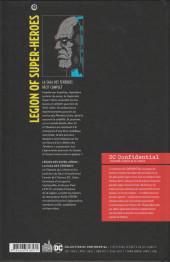 Verso de DC Confidential (Urban comics) -5- Legion of Super-Heroes : La saga des ténèbres