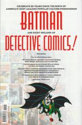 Verso de Detective comics: 80 years of Batman - 80 years of Batman the deluxe edition