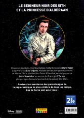 Verso de Star Wars - Histoires galactiques -1- Dark Vador & La Princesse Leia