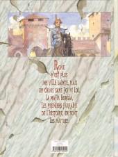 Verso de Borgia (Jodorowsky/Manara) -1- Du sang pour le pape