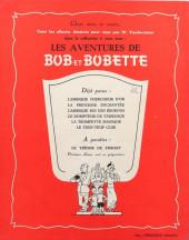 Verso de Bob et Bobette -6- Le Teuf-Teuf Club