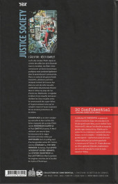Verso de DC Confidential (Urban comics) -4- Justice Society : The Golden Age (L'âge d'or)