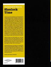 Verso de Sherlock Time