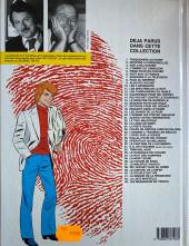Verso de Ric Hochet -6d1987- Rapt sur le France