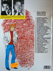 Verso de Ric Hochet -23b1987- La ligne de la Mort
