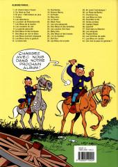 Verso de Les tuniques Bleues -21a2000- Les cinq salopards