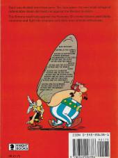 Verso de Astérix (en anglais) -3- Asterix in Britain