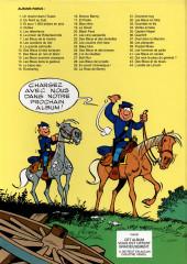 Verso de Les tuniques Bleues -19b2001- Le David