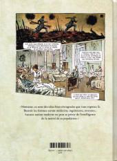Verso de À mains nues -1- Tome 1 - 1900-1921