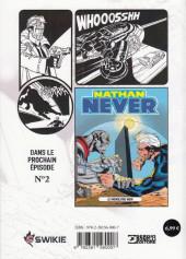 Verso de Nathan Never (Editions Swikie) -1- Agent spécial Alpha