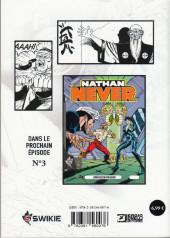 Verso de Nathan Never (Editions Swikie) -2- Le monolithe noir