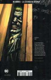 Verso de DC Comics - La légende de Batman -83- Noël