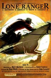 Verso de Lone Ranger Vol.1 (The) (Dynamite - 2006) -3- Issue # 3