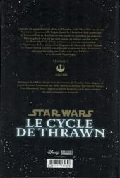 Verso de Star Wars - le cycle de Thrawn (Delcourt) -INTa19- Le cycle de Thrawn
