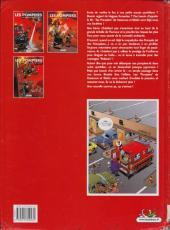 Verso de Les pompiers -3- Le feu de l'amour
